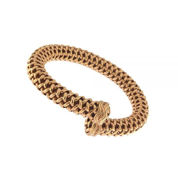 Bracelet in rose gold.